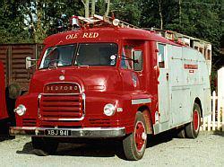 Samochód strażacki - Bedford