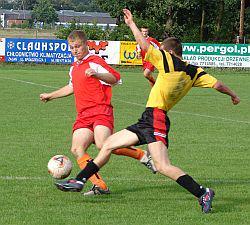 Niesposób było naszych piłkarzy ominąć, gole sypały się jeden po drugim...
