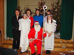 Święty Mikołaj wraz z Pomocnikami
