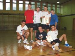 Zwycięzcy turnieju siatkówki