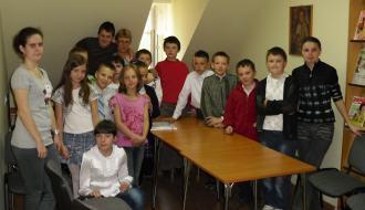 Czytelnia w bibliotece w Ruszowie