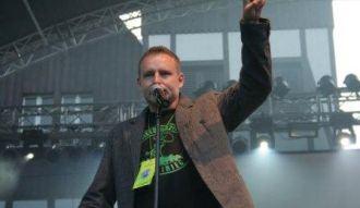 Marcin Bykowski podczas Święta Grzybów 2009