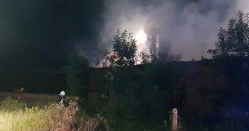 Pracowite 24h strażaków z OSP Węgliniec