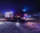 Pożar przy ul. Górniczej w Starym Węglińcu