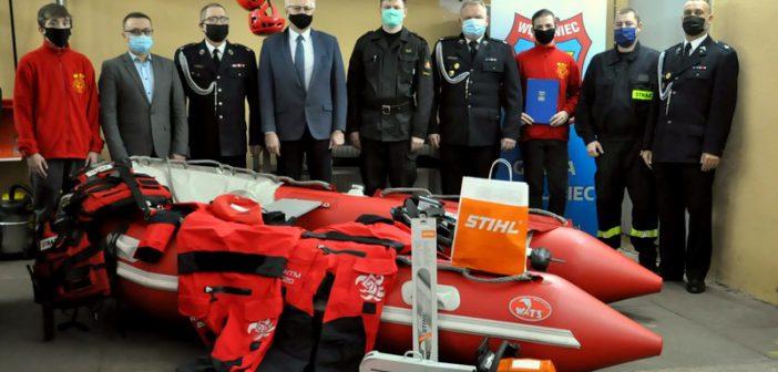 Nowy sprzęt i wyposażenie dla strażaków–ochotników w Gminie Węgliniec