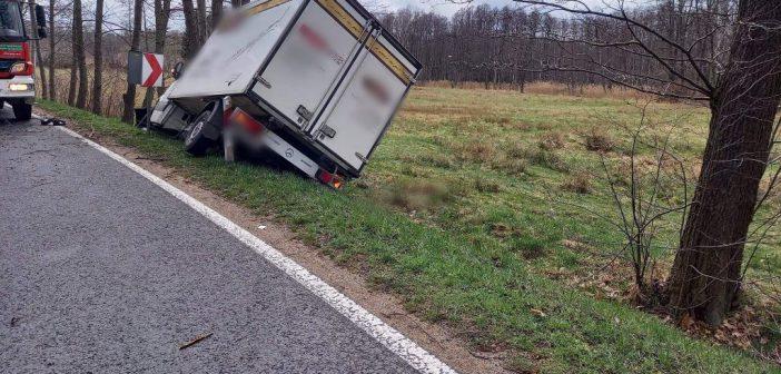 Kolejny wypadek na DW296